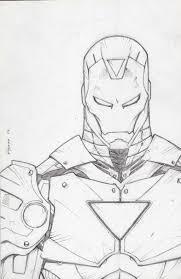 ironman sketch by kid destructo on deviantart