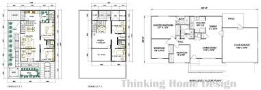 Size Of 2 Car Garage by Sample House Designs And Floor Plans With Design Photo 62539