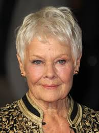 judi dench hairstyle front and back of head judi dench biography