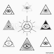 collection of 25 the all seeing eye sle
