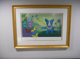 Trademark Fine Art 35 In by Blue Dog George Rodrigue Art For Sale
