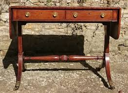 Antique Sofa Tables by 18th Century Regency Rosewood Antique Sofa Table C 1810 United