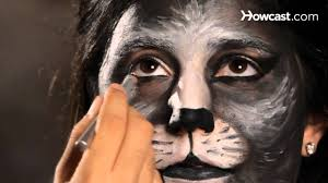 Black Eye Makeup For Halloween How To Do Cat Eye Makeup Halloween Makeup Youtube