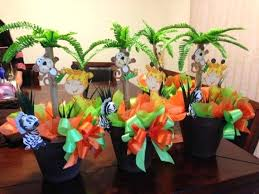 jungle themed baby shower jungle theme decor kids birthday party table ideas baby shower