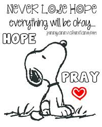 happy thanksgiving charlie brown quotes there is power in prayer snoopy peanuts gang have faith it