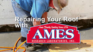 Sta Kool Elastomeric Roof Coating by How To Repair Your Roof With Ames Coatings Youtube