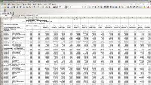 Financial Tracking Spreadsheet Financial System Bmsi