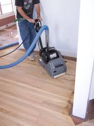 Laminate Floor Refinishing Dustless Hardwood Floor Refinishing Pros U0026 Cons The Log Home Guide