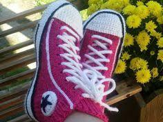 pattern crochet converse slippers crochet converse slippers free pattern video converse slippers