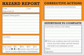 incident hazard report form template 24 images of hazard report form template infovia net