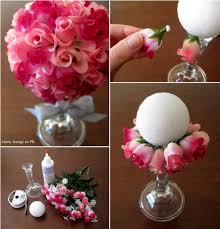diy flower ball bouquet home design garden u0026 architecture blog