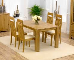 Light Oak Dining Table And Chairs Tempo Solid Oak Dining Table 150cm 4 Napoli Chairs Pertaining To
