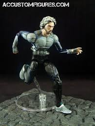 quicksilver film marvel quicksilver avengers age of ultron custom marvel legends figure
