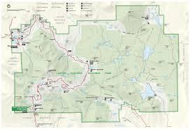 Yosemite Park Map Lassen Volcanic Maps Npmaps Com Just Free Maps Period