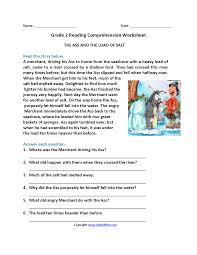 2nd grade reading comprehension worksheets u2013 wallpapercraft