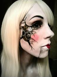 Really Scary Halloween Makeup 20 Of The Creepiest Halloween Makeup Ideas