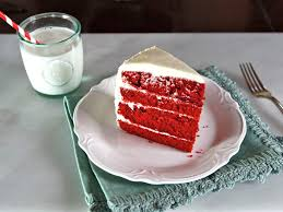 a traditional recipe and history for red velvet cake from food