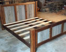 Wooden King Size Bed Frame Bedding Good Looking Reclaimed Wood Bed Frame