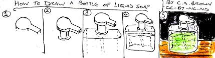 how to draw a bottle of liquid soap pekoeblaze the official blog