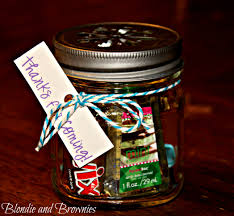 jar party favors jar party favors blondie and brownies