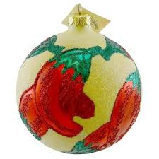 Chili Pepper Christmas Ornaments - best chili peppers glasses products on wanelo