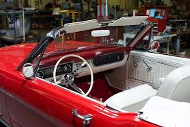 mustang rentals our beautiful lucille with white interior picture of
