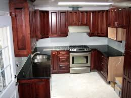 Black Granite Kitchen by Granite Countertops No Backsplash
