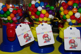 Gumball Party Favors Maddycakes Muse Super Mario Party