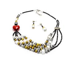 beads jewelry making necklace images Mally genuine murano glass jewelry venetian glass beaded jpg