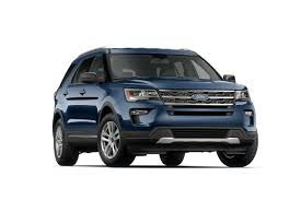 Ford Explorer Xlt - 2018 ford explorer xlt suv model highlights ford com
