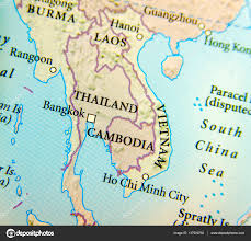 Map Of Thailand Geographic Map Of Thailand Burma Cambodia Vietnam And Laos Co