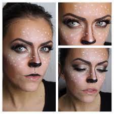 Bambi Halloween Makeup by Fasching Tutorial Bambi Youtube
