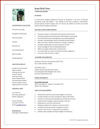 resume format 2013 sle philippines short inspirational accountant resume format in word format mailing format