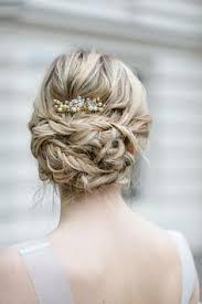 Hochsteckfrisurenen Unordentlich by Braut Geflochtener Zopf Brautfrisur Hairstyle Bridalhair
