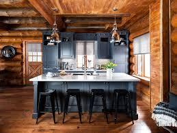 Log Cabin Kitchen Ideas The Rustic Kitchens Design Ideas Tips Inspiration Inside Log Cabin