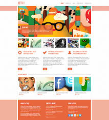 40 best free landing page psd templates designmaz