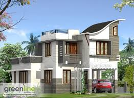 kerala house plan kerala house elevation at 2991 sqft flat roof