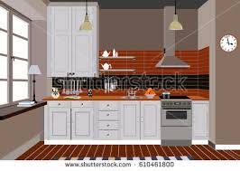 modern kitchen vector download free vector art stock graphics