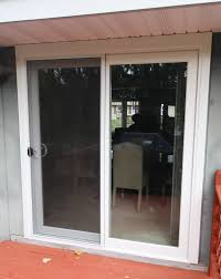 Patio Doors Cheap Sliding Patio Doors With Built In Blinds Lowes Glass For
