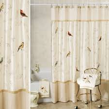 Bird Lace Curtains Shower Curtain Modern Interior Home Design Ideas