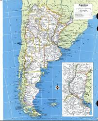 A Map Of South America Detailed Map Of Argentina You Can See A Map Of Many Places On