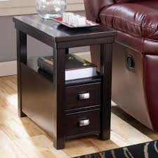 small narrow side table furniture 12 inch wide end table recliner end table small skinny