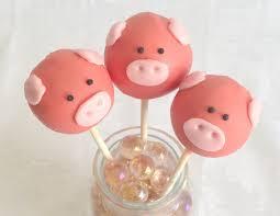 piggy cake pops baby bea u0027s bakeshop