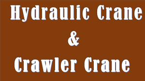 difference between hydraulic crane and crawler crane hydraulic