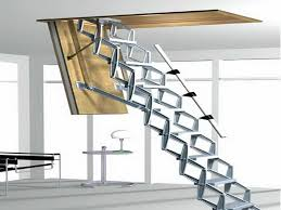 Access Stairs Design Foldable Stairs Simple 13 Folding Attic Stairs Home Interior