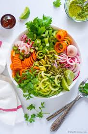 celery detox salad with cucumber and zucchini recipe chefdehome com