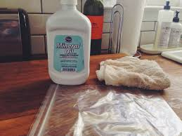 how to protect a butcher block countertop my yankee roots you can find mineral oil in any pharmacy or pharmacy area of the grocery store it s in the laxative section sorry the bottle above cost about three