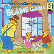 berenstein bears books the berenstain bears and the blame by stan berenstain jan