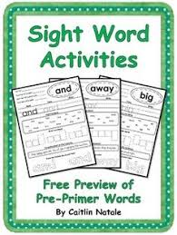 no prep first 100 fry words worksheets from teacher twinkle toes