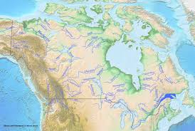 worlds rivers map file rivers of canada jpg wikimedia commons